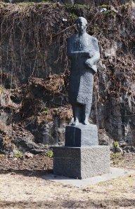 Statue av Marshall i Oslo, reist av takknemlige nordmenn